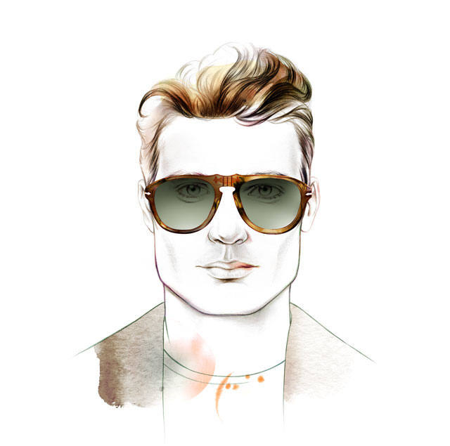 Face Shape Vierkant - Male - Sunglass Hut Portugal